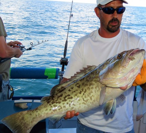 39 hour long range gag grouper fishing charter picture for Hubbards marina fishing