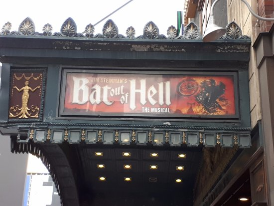 Ed Mirvish Theatre: Ed Mirvish Theater in Toronto , Bat Out of Hell musical