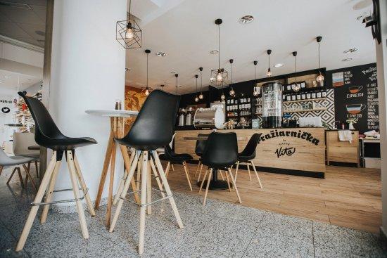Trencin, Slovakia: Kaviarnička