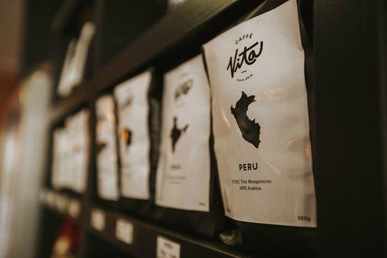 Trencin, Slovakia: Balené kávy