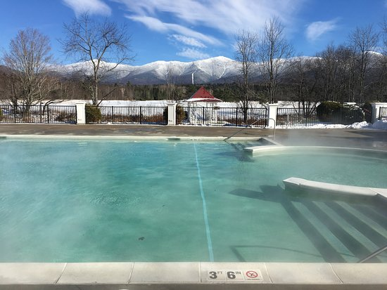 Outdoor Pool Heated To 80 Degrees November 2017 Picture Of Omni Mount Washington Resort