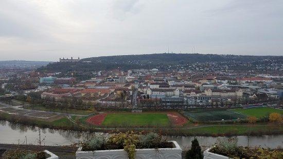 Schlosshotel Steinburg: View from my room.