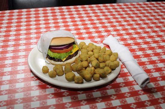 Weatherford, Τέξας: Burger & Okra