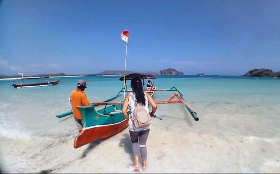 Mataram, Indonesia: Boat to Batu Payung
