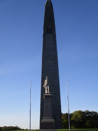 Bennington, VT: Seth Warner statue and the monument