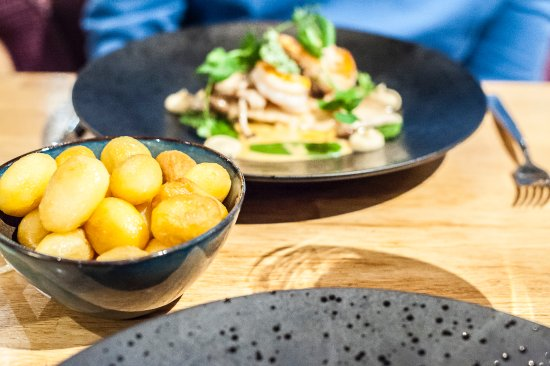 Veldhoven, The Netherlands: FINE - potatoes accompanying the main course