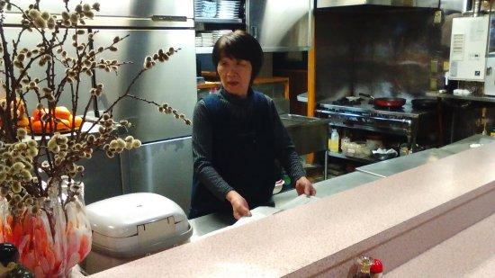 Yokote, Japan: 若女将はとても親切