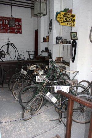Ironbridge, UK: The cycle shop