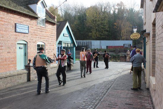 Ironbridge, UK: Morris Dancing