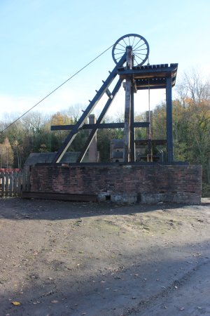 Ironbridge, UK: Pit Head Winding Gear