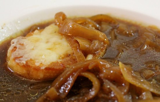 Wallace, ID: French Onion Soup. On the menu every day!!