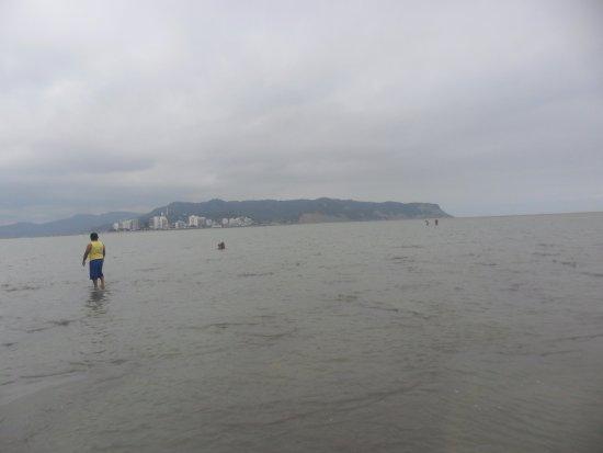 Provinz Manabi, Ecuador: Caminando en el playon