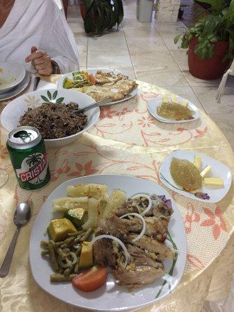 Casa Papo y Niulvys: feines Nachtessen
