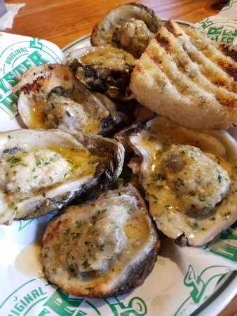 Spanish Fort, AL: Fire Grilled Oysters