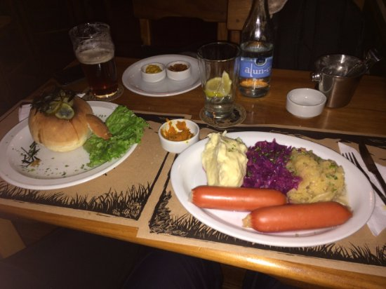 El Mallin Restaurant Cervecero: Pratos