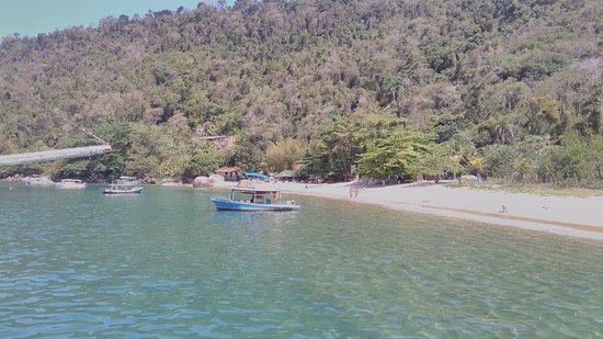 Vermelha Beach: vista do barco