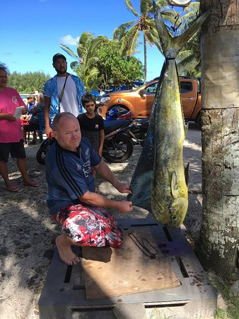 Captain Moko's Fishing Charters: the 23Kg mahi