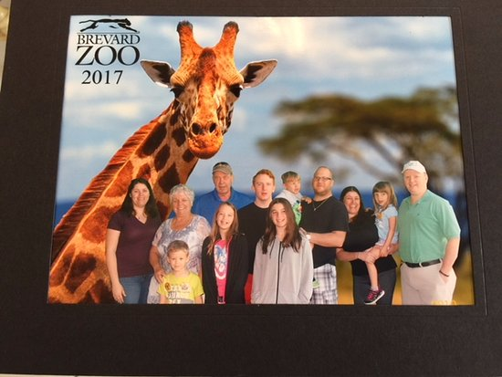 Brevard Zoo: The Johns, McCormack and DeMar family celebrating Andrews 5th Birthday.