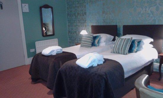 Lampeter, UK: la camera doppia con letti comodissimi , arredata in modo caratteristico inglese