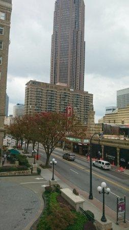 "Hotel Indigo Atlanta Midtown: View from the corner ""Fox View"" rooms"