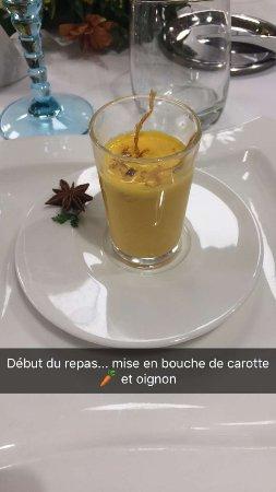 Canteleu, Francia: velouté de carotte