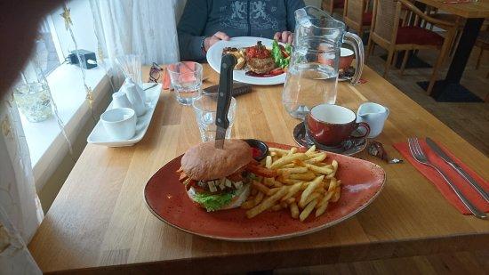 Laugarvatn, IJsland: Reindeer Burger