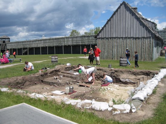 Mackinaw City, MI: Colonial Michilimackinac, home to the longest ongoing archaeological dig in North America.