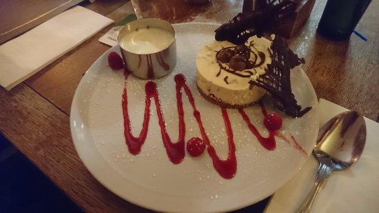 Burscough, UK: Cheesecake