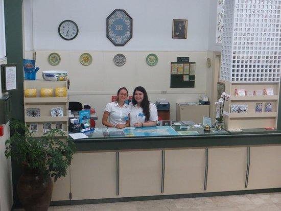 Hotel Kennedy: the helpful reception team