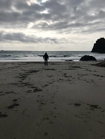 Lizard, UK: We had a fabulous time visiting Kynance Cove while on our honeymoon. We fell in love with this p
