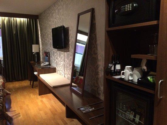 Clarion Hotel Winn: Large doubleroom on top floor