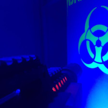 Bakersfield, Californien: Indoor Tactical Laser Tag Arena