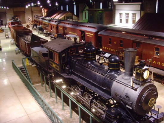 Strasburg Rail Road: The big train room