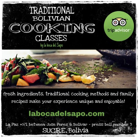 Traditional Bolivian cooking classes in Sucre, Bolivia