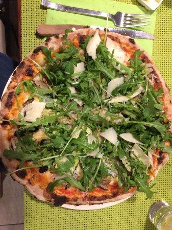 Schepdaal, بلجيكا: Pizza Parmigiana, een echte aanrader voor vegetariërs