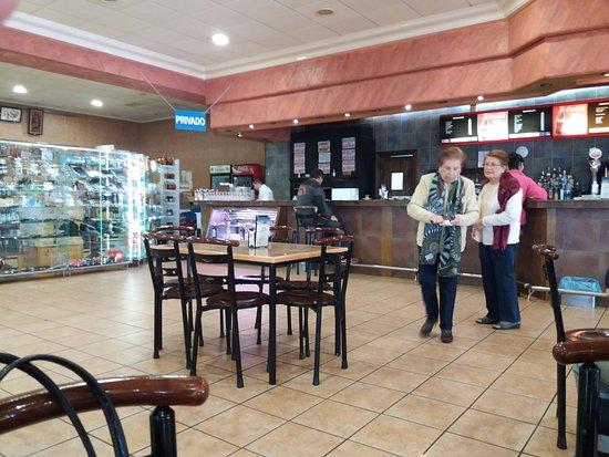 Honrubia, España: La barra