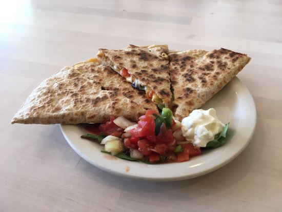 Belfast, ME: Cheese Quesadillas
