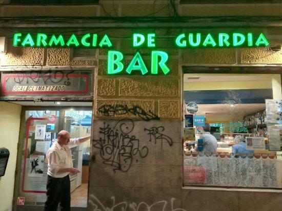 Farmacia de Guardia, Madrid - Restaurantanmeldelser