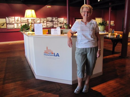 Lewiston, ME: Our volunteers are ready to greet and bring you on a tour of Museum L-A!