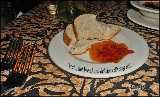 Z Bardhi's Italian Cuisine: Hot, fresh bread...