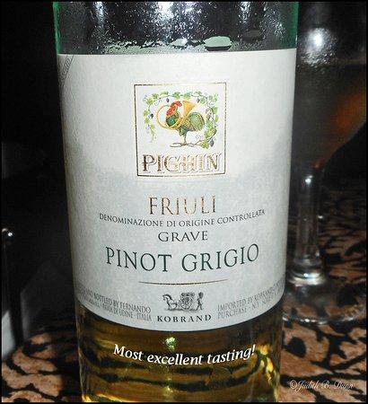 Z Bardhi's Italian Cuisine: Excellent wine!