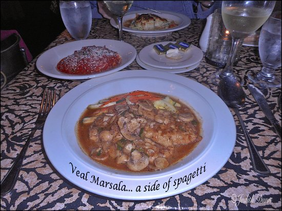 Z Bardhi's Italian Cuisine: Choose your own side dishes....