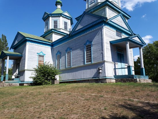Pereiaslav-Khmelnytskyi, Ukraine: Церковь, а в ней- музей космонавтики!!!