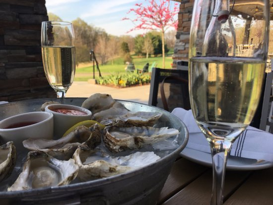 Columbia, MD: Buck-A-Shuck Tuesday special includes $1 oysters and $5 Prosecco.