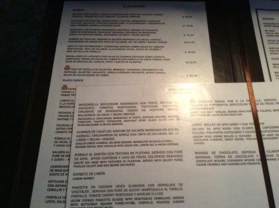 Cena romantica picture of restaurante casa santo domingo - Cena romantica menu casa ...