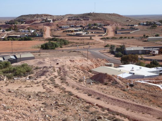 Coober Pedy, Australia: View from the top