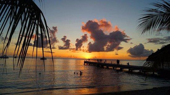 Les Anses d'Arlet, Martinique: Ponton de Petite Anse
