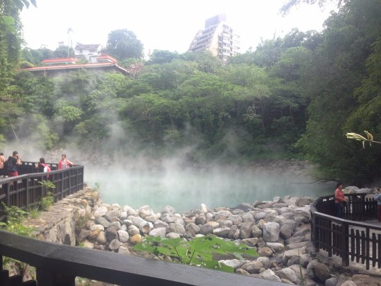 Beitou Thermal Valley(Hell Valley) : Vu des sources