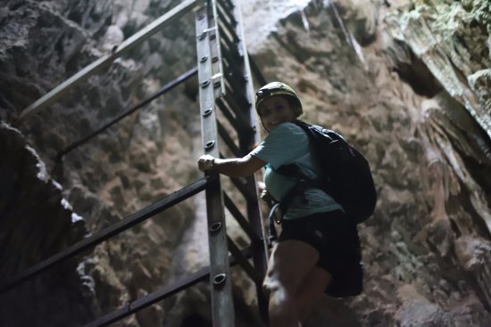 Nicoya, Коста-Рика: Caverna Terciopelo, don't look down if you are afraid to heights