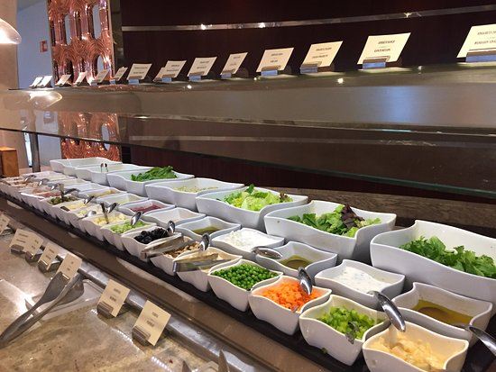 Moon Palace Cancun: Breakfast selection - salads for green lovers